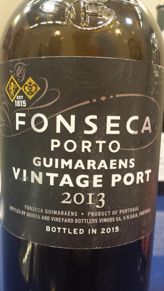 Fonseca – Guimaraens – 2013 Vintage Port