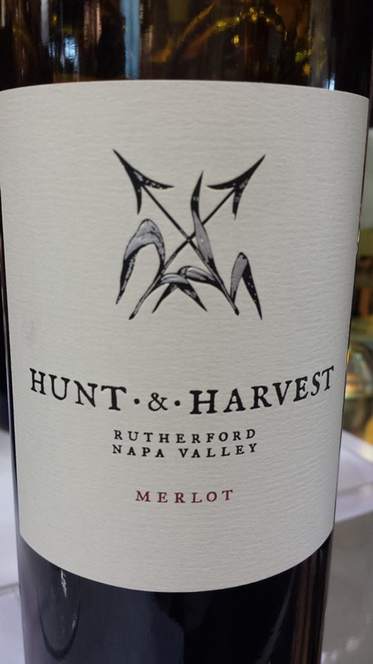 Hunt & Harvest – Merlot 2013 – Napa Valley – Rutherford