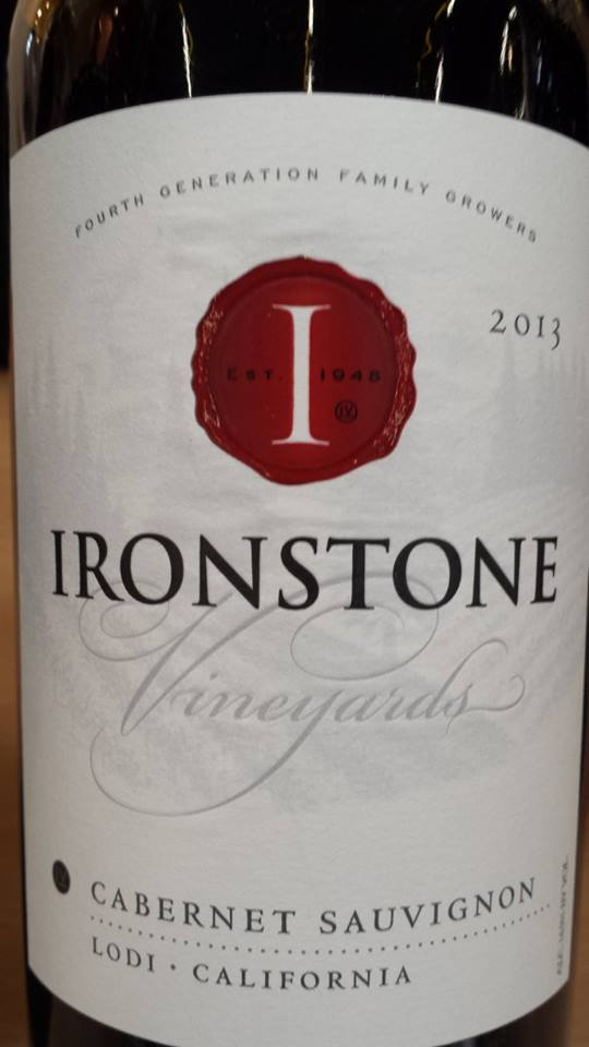 Ironstone Vineyards – Cabernet Sauvignon 2013 – Lodi