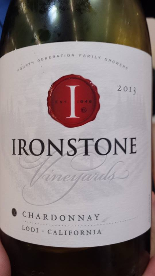 Ironstone Vineyards – Chardonnay 2013 – Lodi
