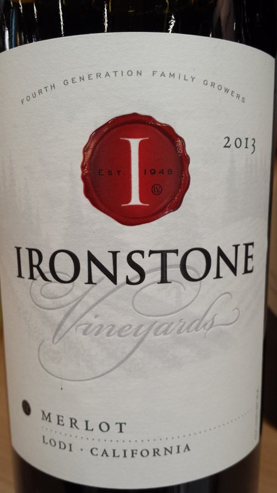Ironstone Vineyards – Merlot 2013 – Lodi
