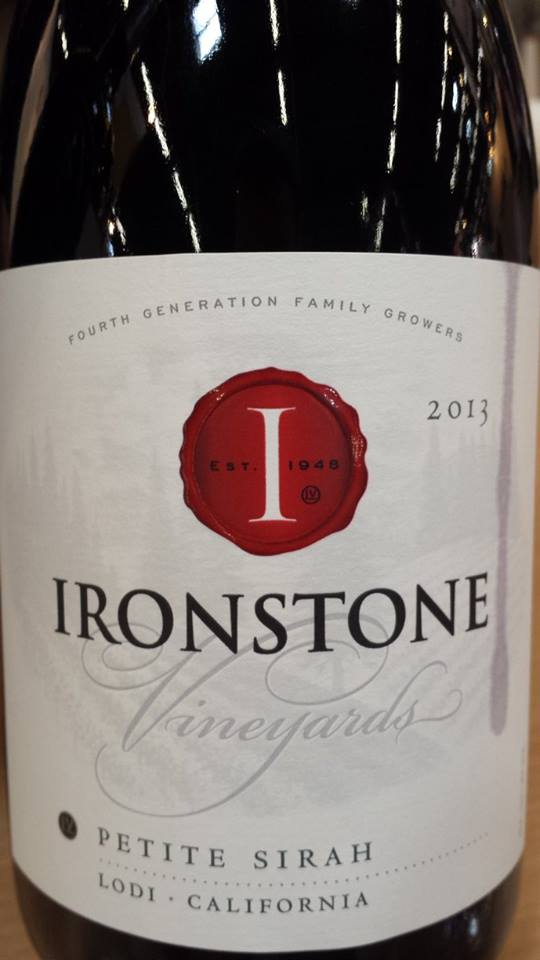 Ironstone Vineyards – Petite Syrah 2013 – Lodi