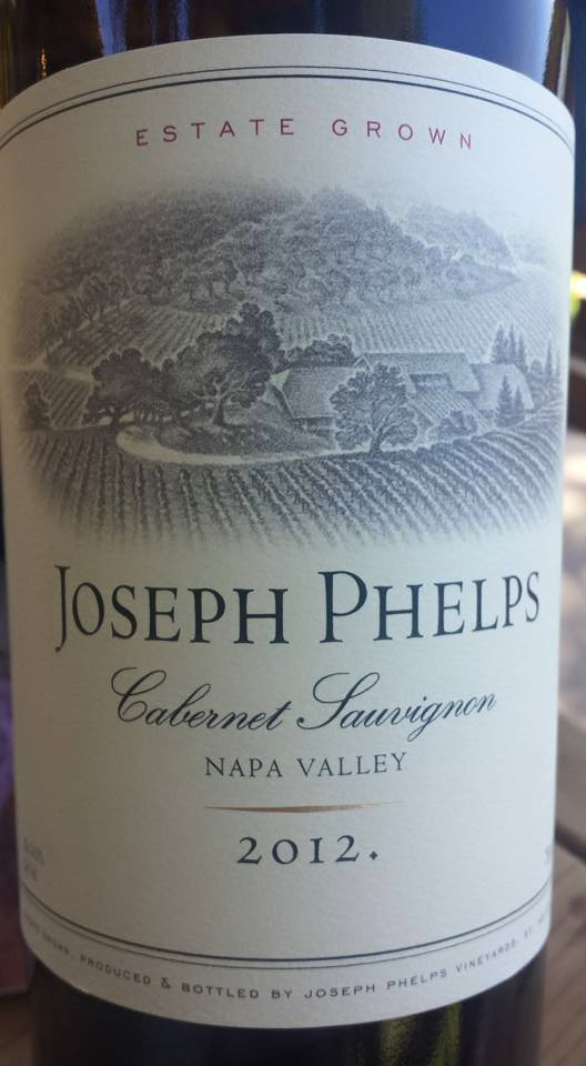 Joseph Phelps – Cabernet Sauvignon 2012 – Napa Valley