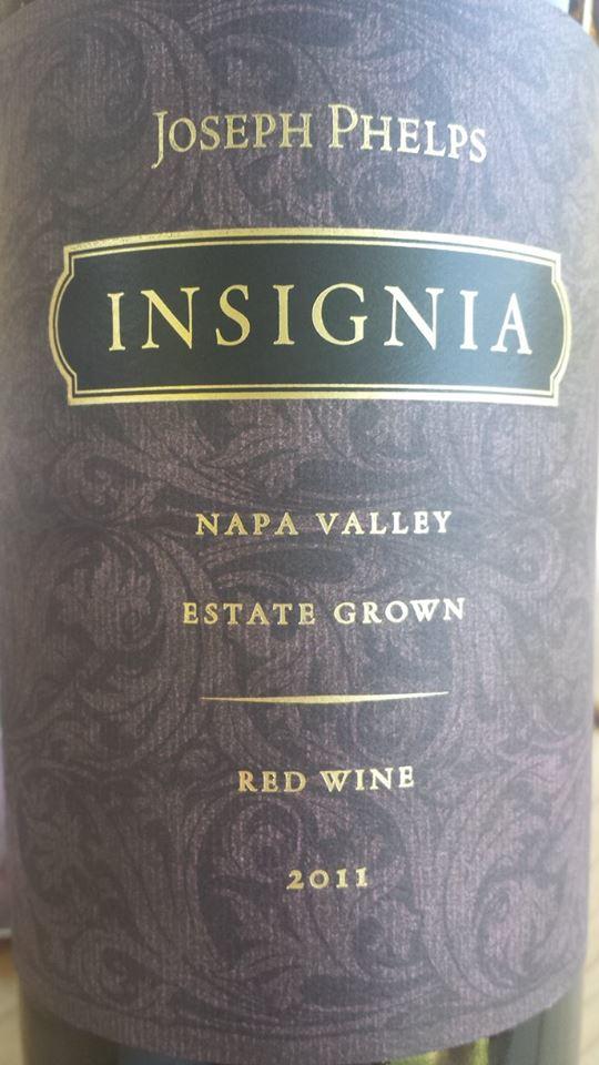 Joseph Phelps – Insignia 2011 – Estate Grown – Napa Valley