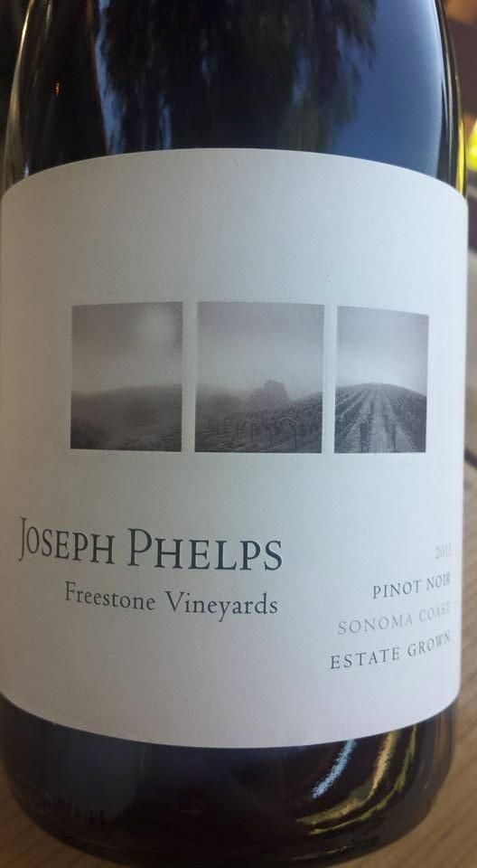Joseph Phelps – Pinot Noir 2013 – Estate Grown – Freestone Vineyards – Sonoma