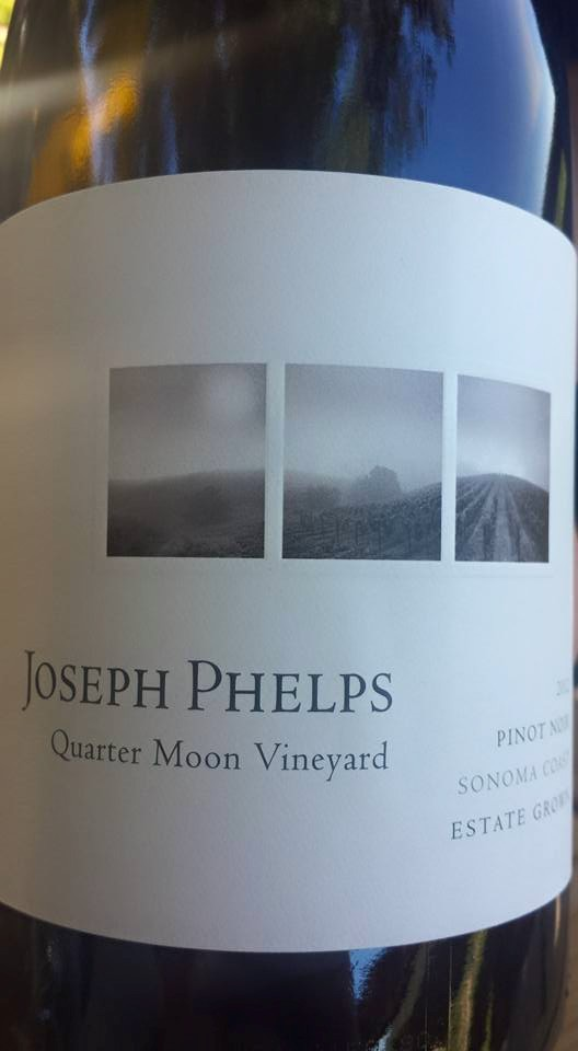 Joseph Phelps – Quarter Moon Vineyard – Pinot Noir 2012 – Sonoma