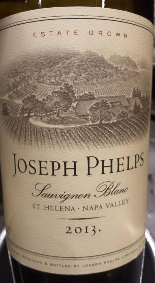 Joseph Phelps – Sauvignon Blanc 2013 – Saint Helena – Napa Valley