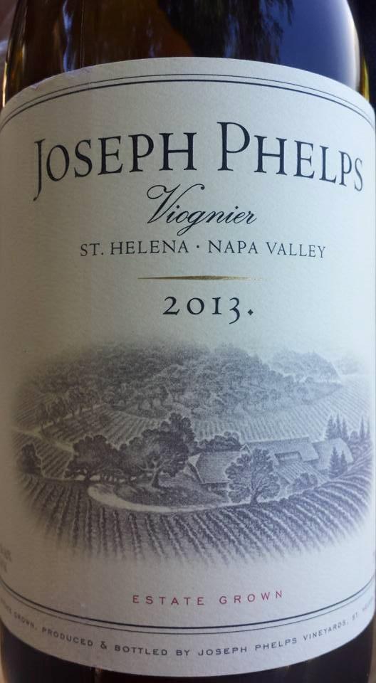Joseph Phelps – Viognier 2013 – Saint Helena – Napa Valley