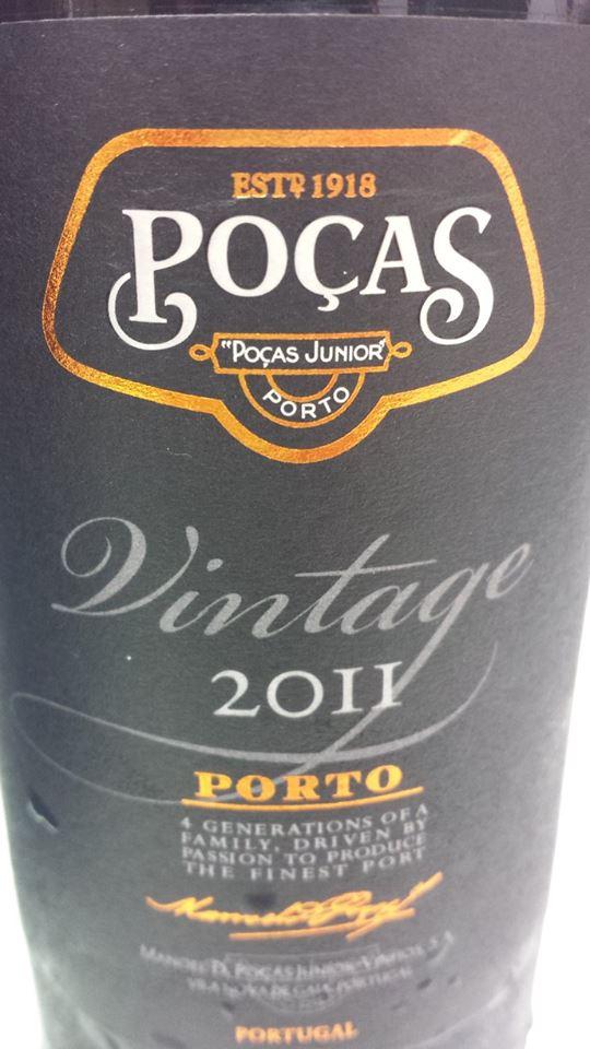 Poças Júnior – Vintage 2011 – Porto