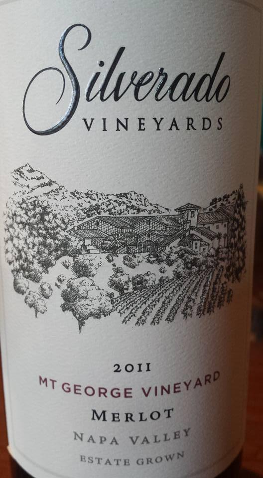Silverado Vineyards – Merlot 2011 – Mt George Vineyard – Napa Valley