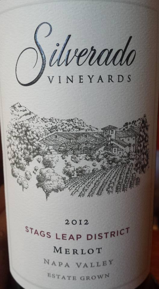 Silverado Vineyards – Merlot 2012 – Stags Leap District – Napa Valley