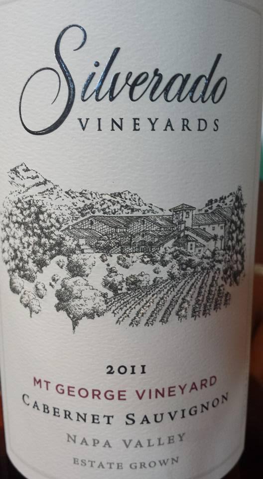 Silverado Vineyards – Mt George Vineyard – Cabernet Sauvignon 2011 – Napa Valley
