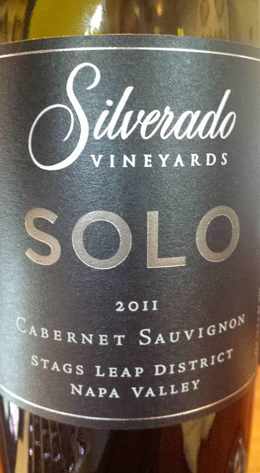 Silverado Vineyards – Solo 2011 – Cabernet Sauvignon – Stags Leap District – Napa Valley