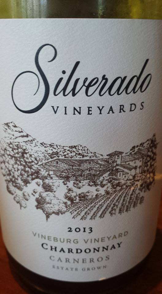 Silverado Vineyards – Chardonnay 2013 – Vineburg Vineyard – Carneros