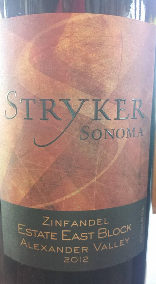 Stryker Winery – Zinfandel – Estate East Block 2012 – Alexander Valley – Sonoma