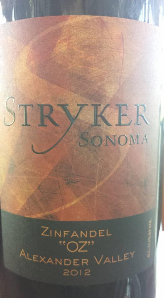 Stryker Winery – Zinfandel Oz 2012 – Alexander Valley – Sonoma