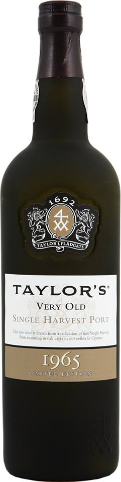 Taylor's – Very Old 1965 Single Harvest Port – Limited Edtion – Colheita