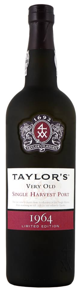 Taylor's – Very Old 1964 Single Harvest Port – Limited Edition – Colheita
