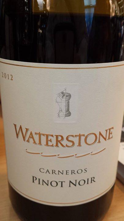 Waterstone – Pinot Noir 2012 – Carneros