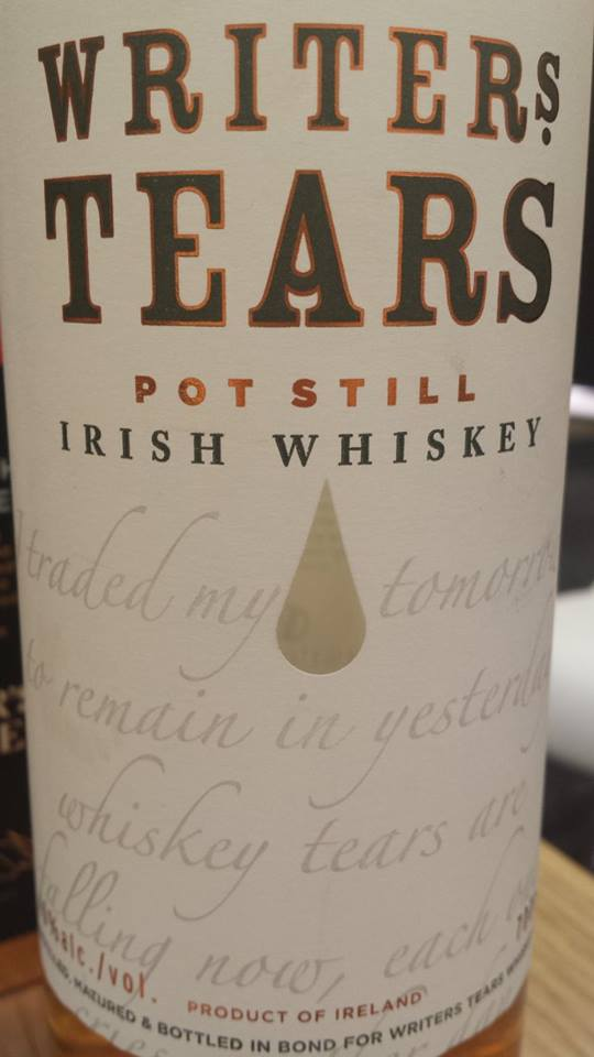 Writer's Tears – Pot Still Blended irish Whiskey – Ireland