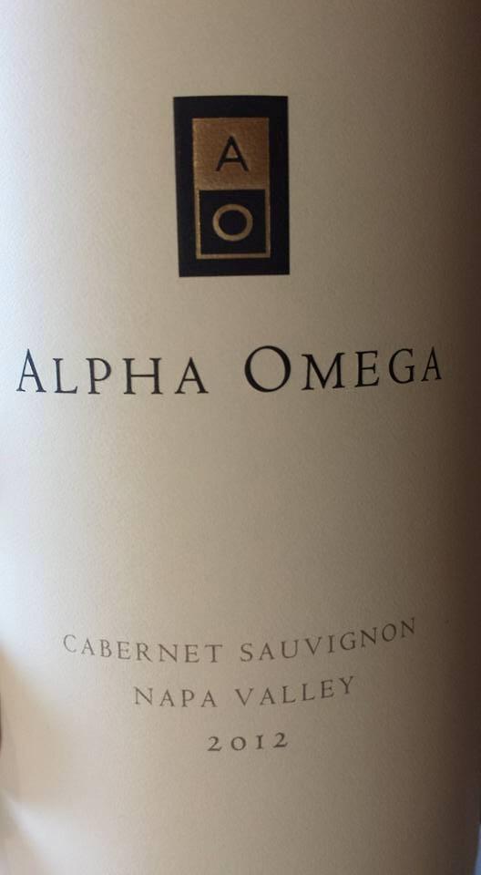 Alpha Omega – Cabernet Sauvignon 2012 – Napa Valley