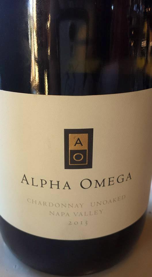 Alpha Omega – Chardonnay 2013 – Unoaked – Napa Valley