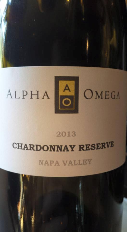 Alpha Omega – Chardonnay Reserve 2013 – Napa Valley (Primeur)