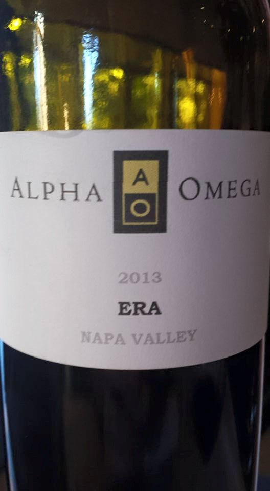 Alpha Omega – Era 2013 – Napa Valley (Primeur)