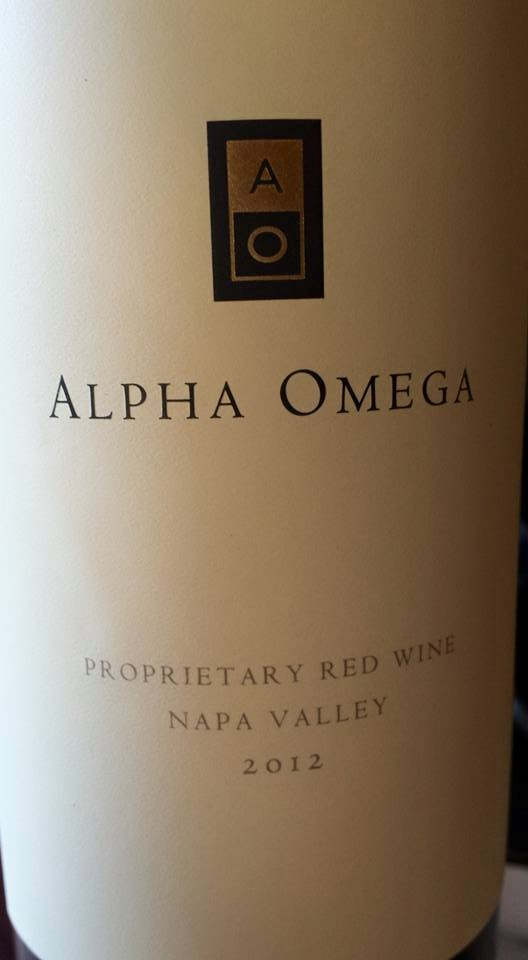Alpha Omega – Proprietary Red Wine 2012 – Napa Valley