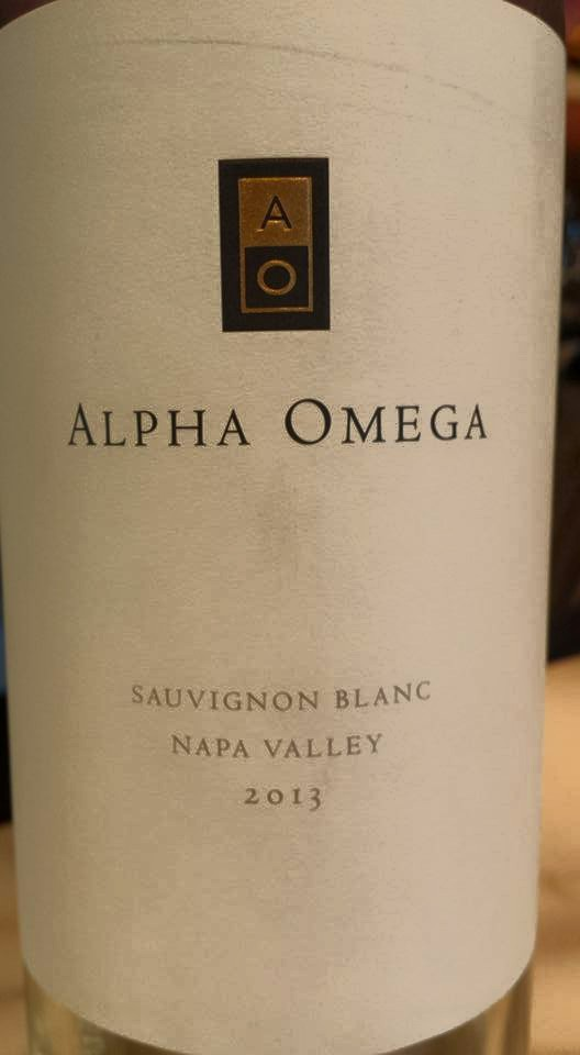 Alpha Omega – Sauvignon Blanc 2013 – Napa Valley