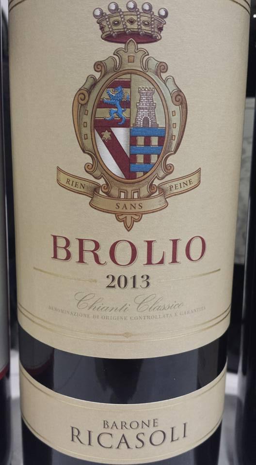 Barone Ricasoli – Brolio 2013 – Chianti Classico