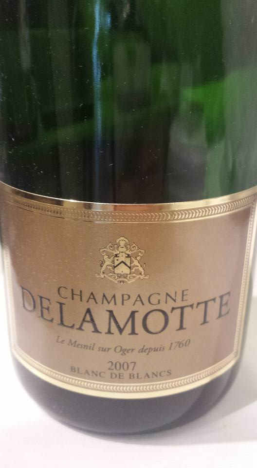 Champagne Delamotte 2007 – Blanc de Blancs