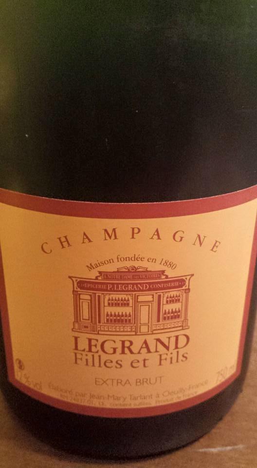 Champagne Sélection Legrand Filles et Fils – Extra Brut – NV