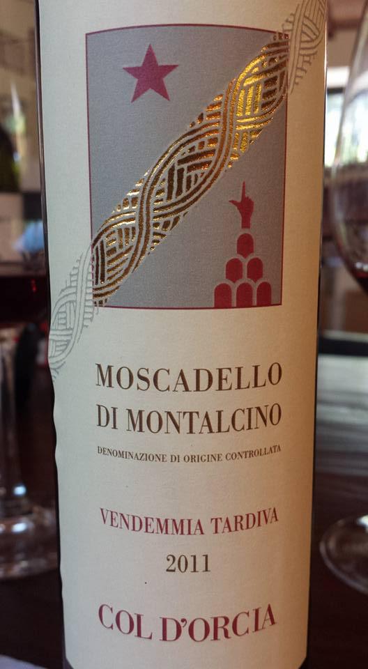 Col d'Orcia – Vendemmia Tardiva 2011 – Moscadello di Montalcino