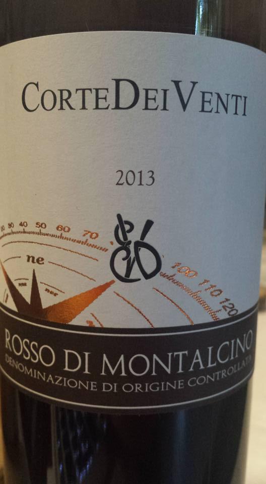 Corte Dei Venti 2013 – Rosso di Montalcino