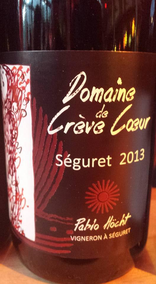 Domaine de Crève Cœur 2013 – Côtes du Rhône Villages Seguret