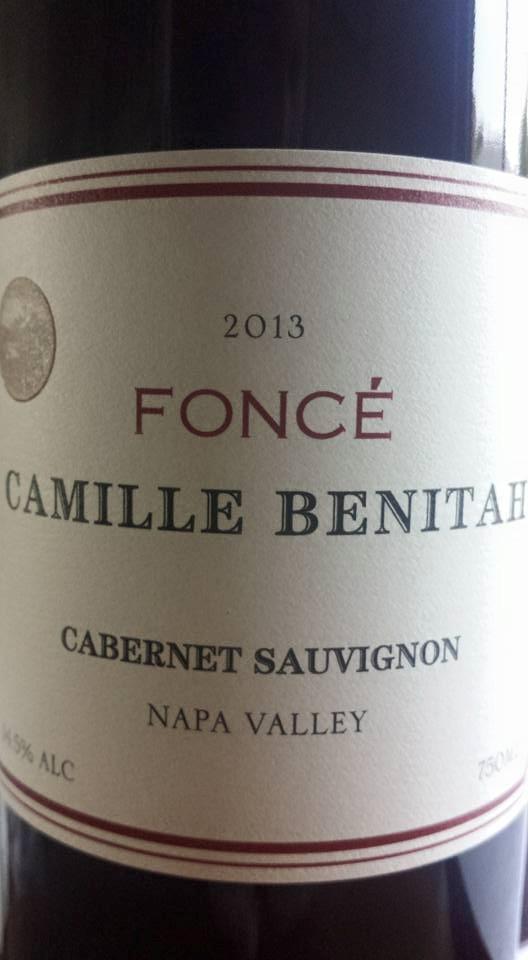 Foncé – Camille Benitah – Cabernet Sauvignon 2013 – Napa Valley