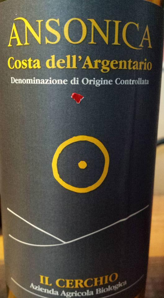 Il cerchio – Ansonica 2014 – Ansonica Costa Dell'Argentario