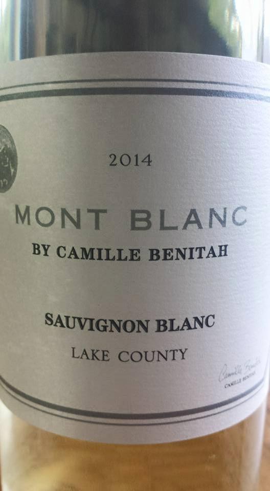 Mont Blanc by Camille Benitah – Sauvignon Blanc 2014 – Lake County
