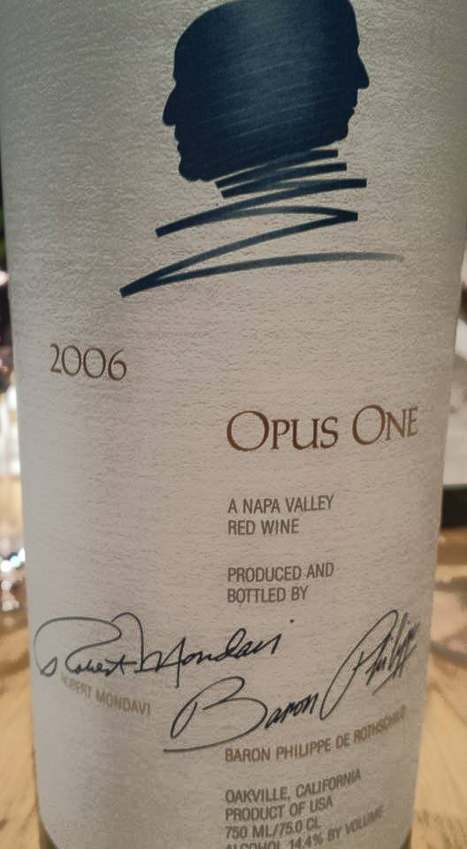 Opus One 2006 – Napa Valley