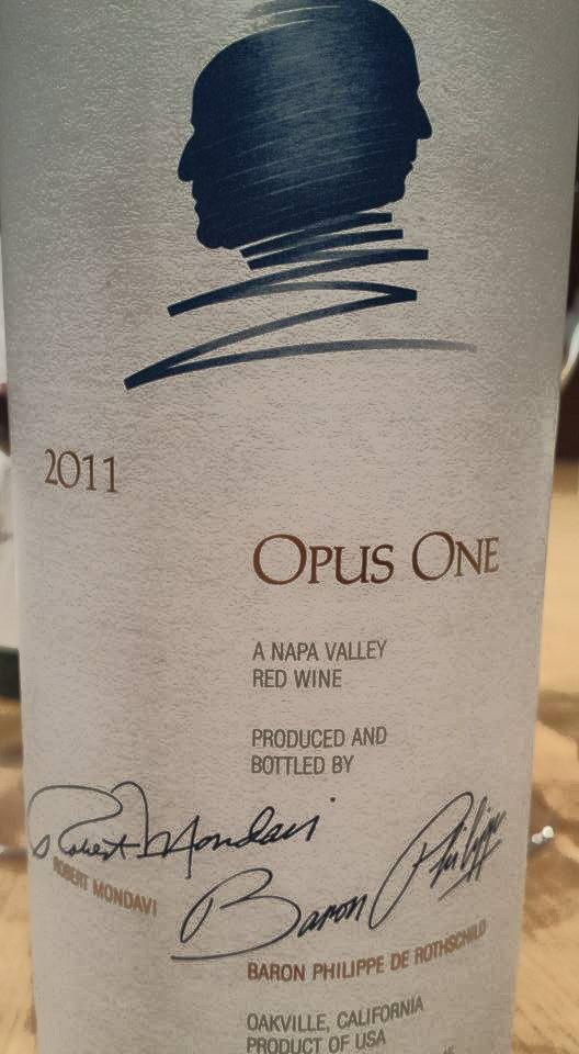 Opus One 2011 – Napa Valley
