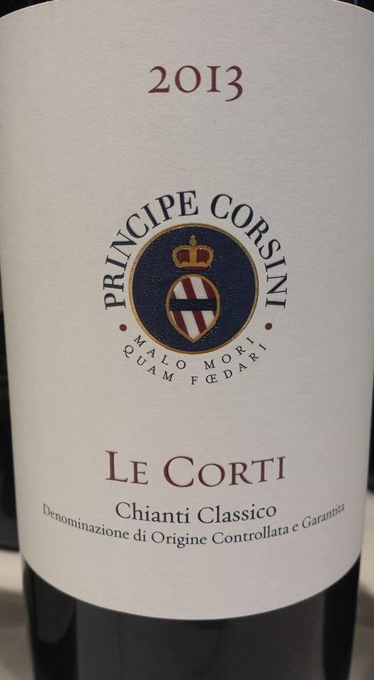 Principe Corsini – Le Corti 2013 – Chianti Classico