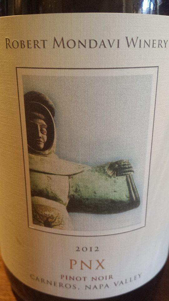 Robert Mondavi Winery – PNX 2012 Pinot Noir – Carneros – Napa Valley