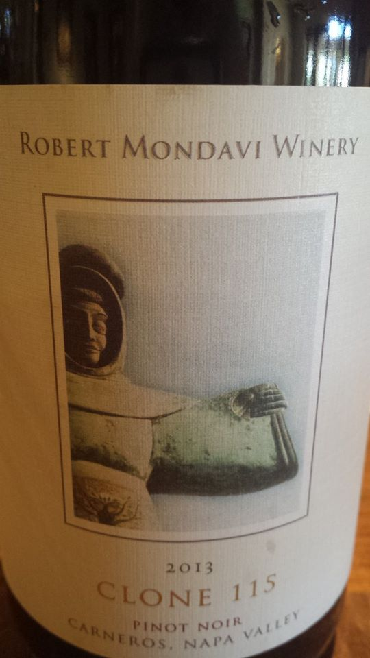 Robert Mondavi Winery – Clone 115 – Pinot Noir 2013 – Carneros – Napa Valley