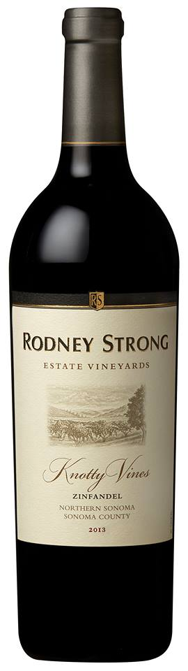 Rodney Strong Estate Vineyards – Zinfandel 2012 – Knotty Vines – Northern Sonoma – Sonoma County