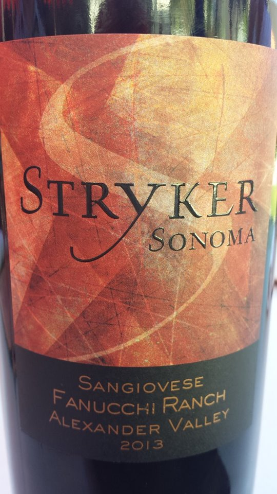 Stryker Winery – Sangiovese 2013 – Fanucchi Ranch – Alexander Valley