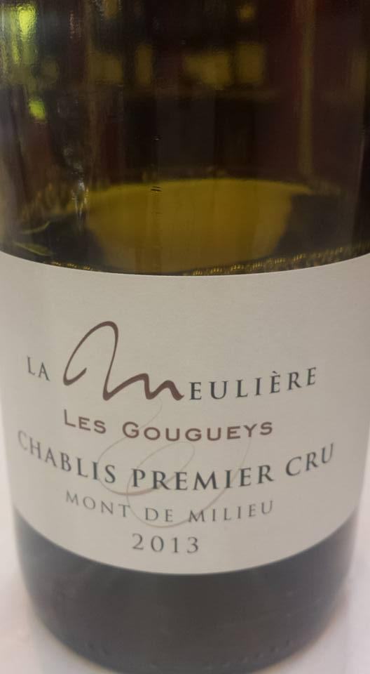 Domaine de La Meulière – Mont de Milieu Les Gougueys 2013 – Chablis Premier Cru