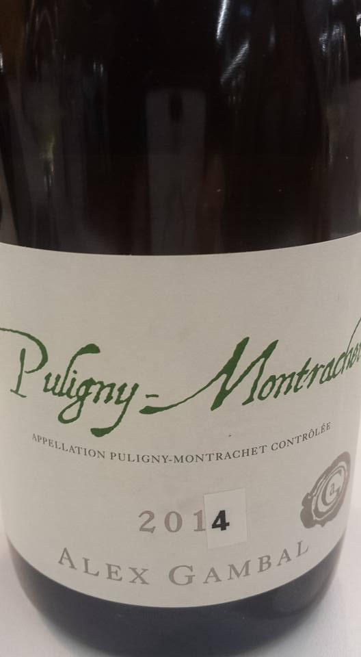Alex Gambal 2014 – Puligny-Montrachet
