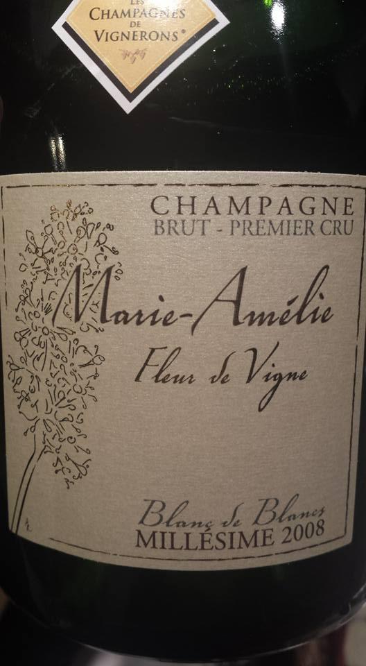 Champagne Henriet-Bazin – Marie-Amélie – Fleur de Vigne 2008 – Blanc de Blancs – Brut – Premier Cru