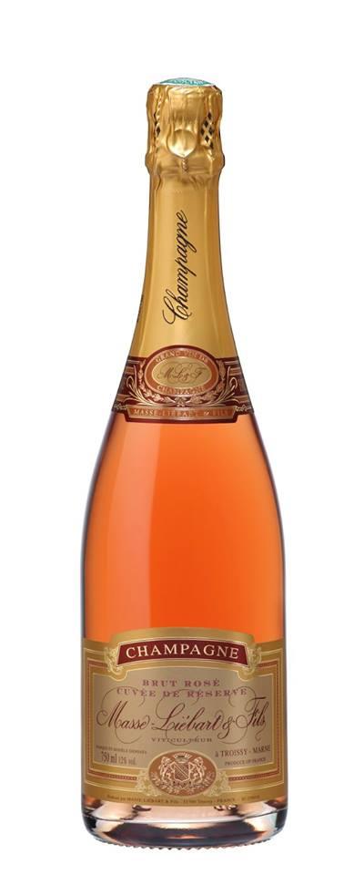Champagne Masse-Liébart & Fils – Cuvée de Réserve – Brut Rosé